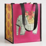 Small Elephant and Paisley Tote Set of 2