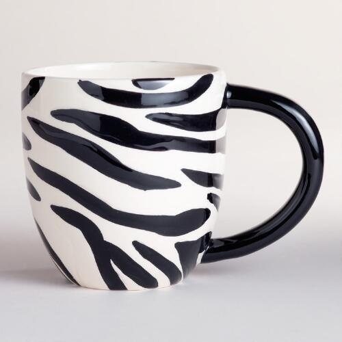 Kids Zebra Surprise Mugs, Set of 2
