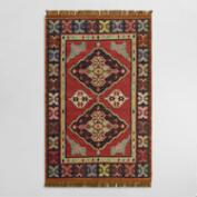 Red Kilim Reversible Esme Indoor Outdoor Rug