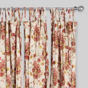 Beige Millie Sheer Crinkle Cotton Voile Curtains Set of 2