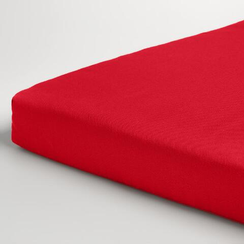 Red Outdoor Bench Cushion World Market