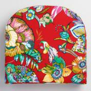 Red Orchid Gusset Outdoor Chair Cushion