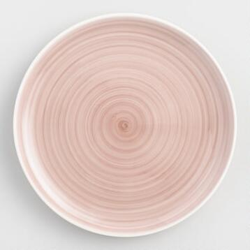 Blush Spinwash Dinner Plates Set of 4