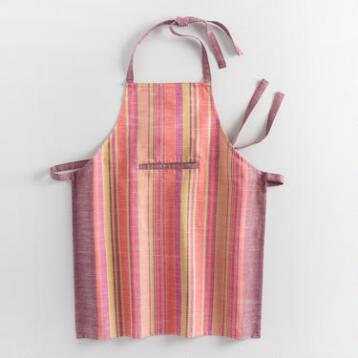 Warm Jardin Stripe Apron