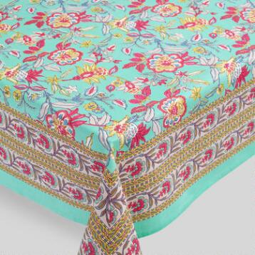Sarita Floral Tablecloth