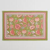 Audrey Floral Placemats Set of 4