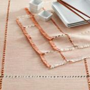 Orange Milange Khadi Table Linen Collection