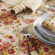 Floral Fringed Millie Table Linen Collection