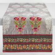 Floral Embroidered Samrina Table Runner