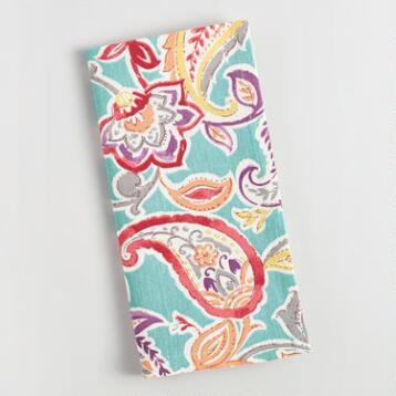Paisley Valentino Napkins Set of 4