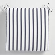 Sunbrella Indigo Lido Stripe Outdoor Chair Cushion