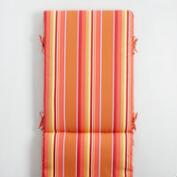 Sunbrella Mango Dolce Stripe Outdoor Chaise Lounge Cushion