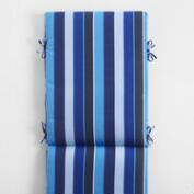 Sunbrella Cobalt Blue Milano Outdoor Chaise Lounge Cushion