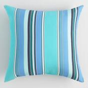 Sunbrella Oasis Dolce Stripe Outdoor Throw Pillow