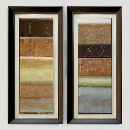 "Norman Wyatt ""Culture Shock"" Panels, Set of 2"