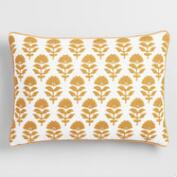 Amber Samode Embroidered Lumbar Pillow