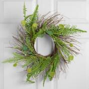 Faux Fern Wreath