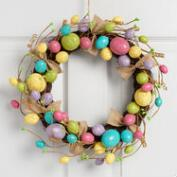 Bright Egg Wreath