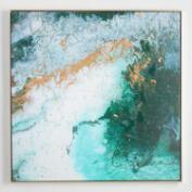 Between Dreams by Hadden Spotts with Gold Frame
