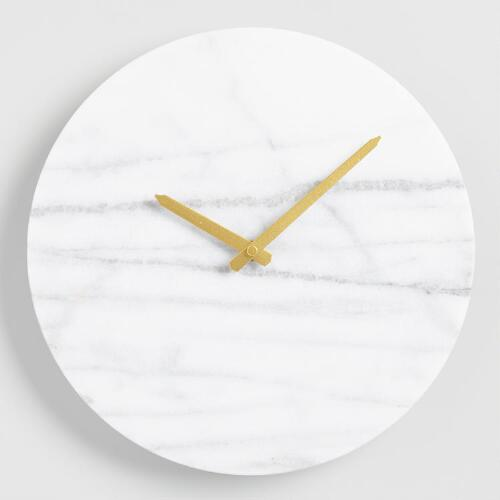 Parker Marble Wall Clock
