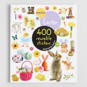 Easter Eyelike Sticker Book