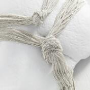 Silver Chain Knot Necklace