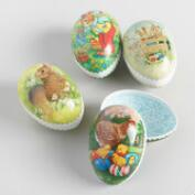 Small Nestler Nesting Easter Eggs Set  of 4