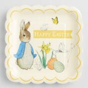 Large Peter Rabbit Square Plates Set of 2