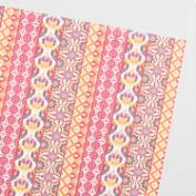 Jaipur Striped Handmade Wrapping Paper Rolls Set of 2