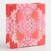 Mini Pink Handmade Paper Gift Bags Set of 2