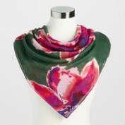 Square Floral Annabelle Scarf