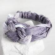 Purple Knot Headband
