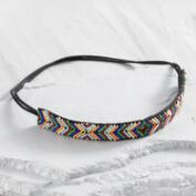 Beaded Chevron Headband