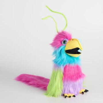 Large Bird of Paradise Hand Puppet
