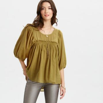 Oasis Green Terri Top