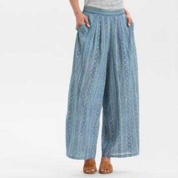 Skye Blue Print Pants