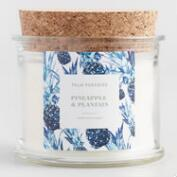 Pineapple Plantain Palm Paradise Filled Candle