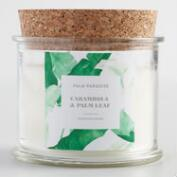 Carambola and Palm Leaf Palm Paradise Filled Candle