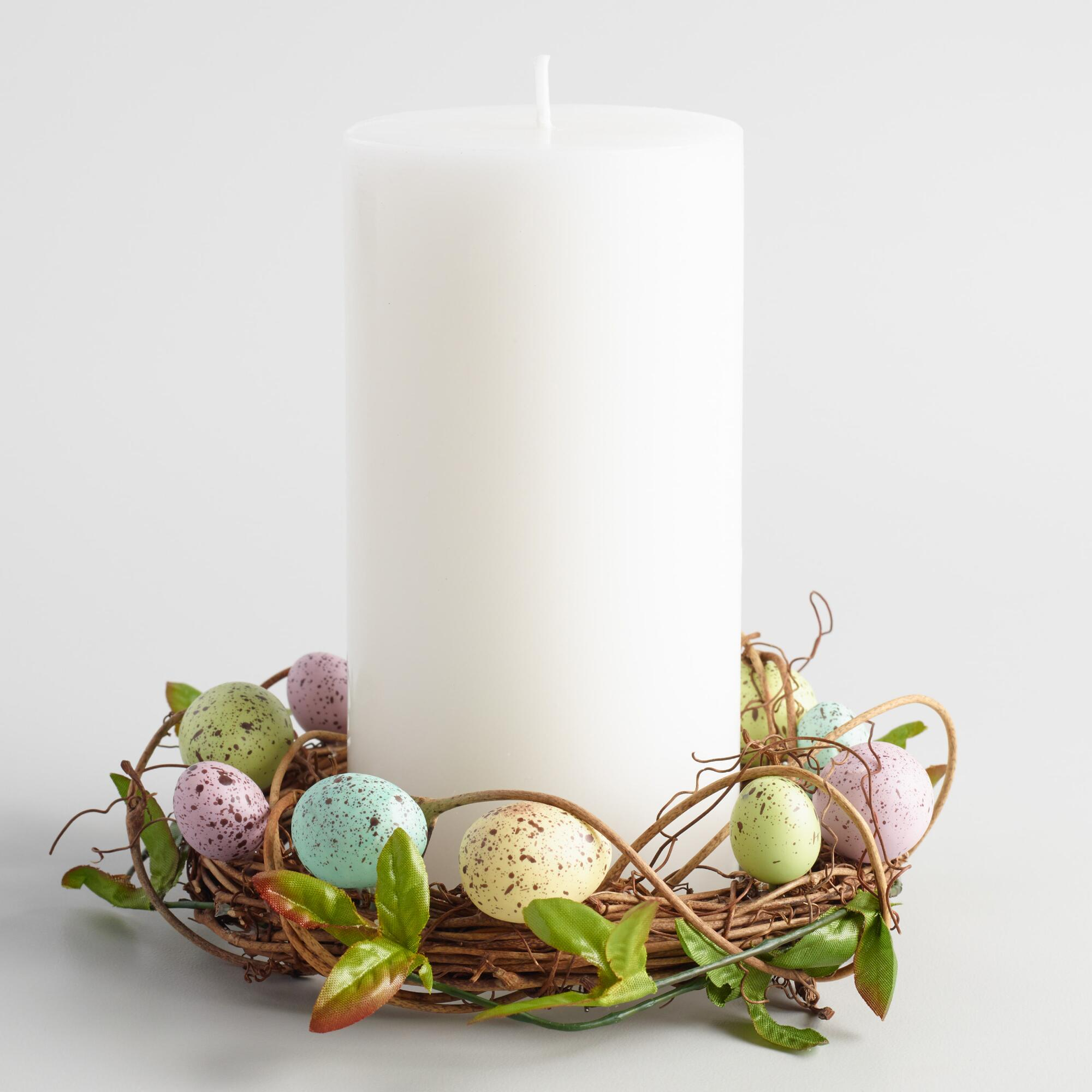 Egg nest candle ring world market for Nest candles where to buy