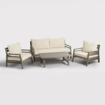 Gray San Sebastian Outdoor Occasional Collection