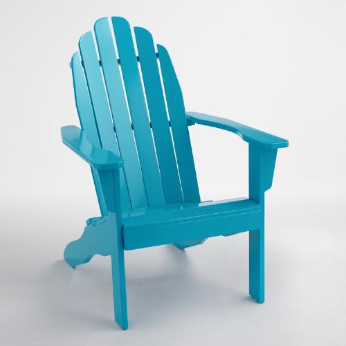Surf Blue Adirondack Chair