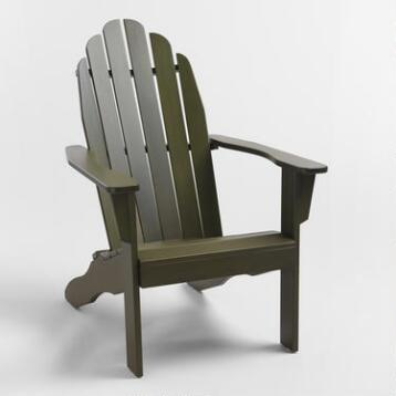 Olive Green Adirondack Chair