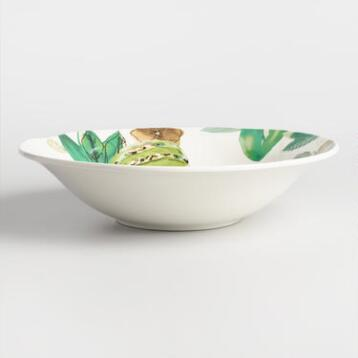 Jungle Fruit Serving Bowl