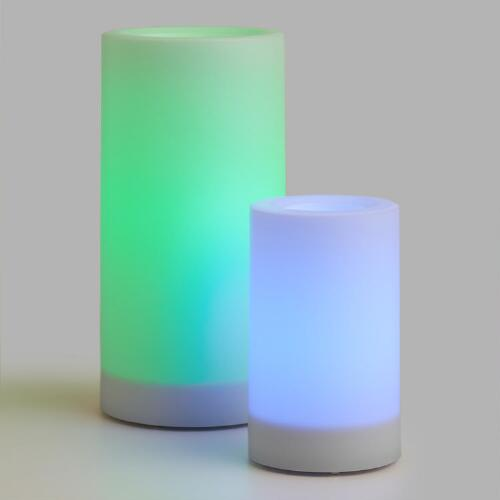 Color Changing Flameless LED Pillar Candle