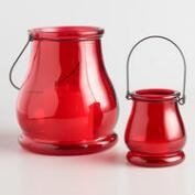 Red Teardrop Lanterns