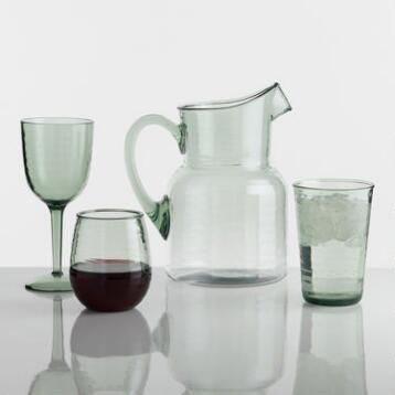 Acrylic Textured Barware Collection