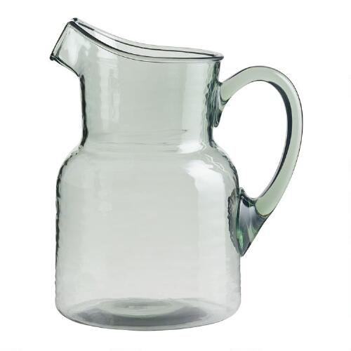 Acrylic Textured Pitcher