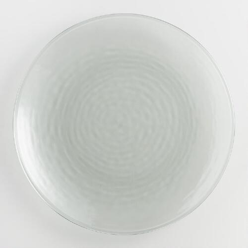 Acrylic Recycled Dinner Plates Set of 4