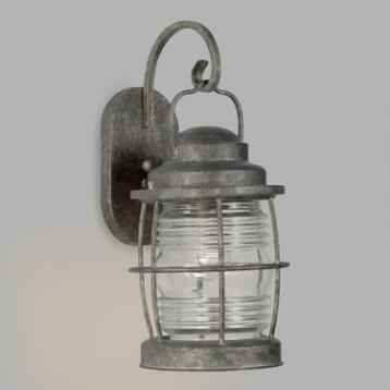Glass and Flint Outdoor Sami Lantern Wall Sconce