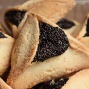 Hamantashen Poppy, Apricot and Raspberry Cookies